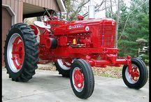 Antieke tractoren