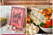 Didi's 11th party / Cupcake bar