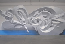 3D GRAFFITI / Street art evolution from 2d to computer generated 3d and plastic
