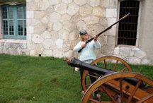 Pevnosť Monostor / Návšteva pevnosti Monostor v Komárne v Maďarsku