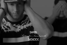 SHRDD MEN ´15 / Take a look at our new SHRDD collection! September Twentysixth!