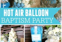 BAPTISM THEME HOT AIR BALLOON