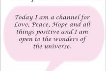 affirmations and quotes / by Jennifer Sanders