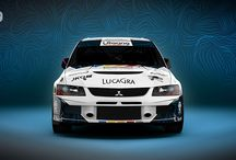 L Racing / New design and wrap of Mitsubishi lance Evo IX for slovak team L Racing