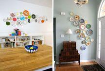 Væg farver/dekoration