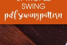 Sewing patterns - own