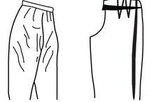 Mønstertilpasning Bukser og skjørt