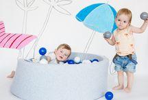 Bällebad miniBe - das Original / Toben im eigenen Bällebad