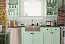"""Kitchens / by Amy """"Sharpe"""" Stone"""