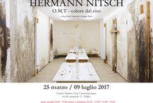 Hermann Nitsch - O.M.T colore dal rito / Mostra di Arte Contemporanea dedicata al Maestro Hermann Nitsch