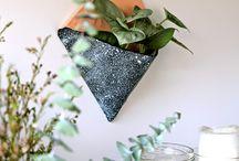 """- DIY URBAN JUNGLE - / Idées DIY dans la tendance """"Urban Jungle"""", amenez de la nature dans votre intérieur !"""