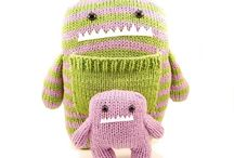 Knitting toys (inspiration)