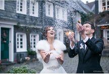 """Hochzeit - Winter / Die Braut hat sich zur Hochzeit Schnee gewünscht...und ....""""Ooooooh... Let It Snow! Let It Snow! Let It Snow!"""""""