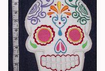 Dia de los muertos/Day of the dead / Todo el colorido de esta celebracion latina