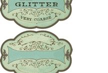 labels - etiquetas Vintage