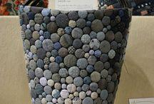 kabelky z knoflíků