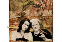 Artsy - Mixed media & altered art / by Laney