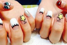 korean nails art