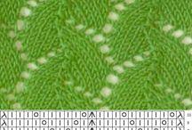Kötés, knitting minták / Kötés mintákat gyűjtöttem össze. http://varroland.hu/