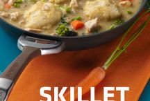 Cook & Keep Cooking / With expertly-engineered meals and cookware that cooks and keeps cooking, your day is a cinch.