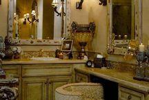 half bath and powder room