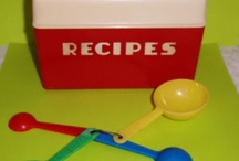 Vintage Recipe Boxes / by Peggy Deatherage