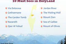 10 must sees in HolyLand / 10 must sees in HolyLand