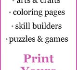 Printables / by Melody Lentsch