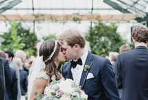 Planterra Conservatory Real Weddings / Real weddings at Planterra Conservatory by Kari Dawson Photography