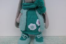 knittedbunny / вязаные зайцы#заяцтильда#игрушказаяц#тильдомания#заяцводежде#crochettoys#knittedtoys#amigurumu#toys#toy