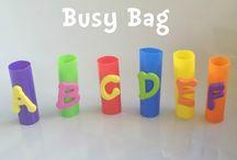 busy bag / by Nur Safina