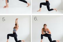 Daily morning stretches and full body workouts