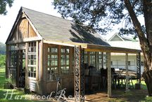 Back Houses / Barns, hideaways and other small out-buildings with charm.