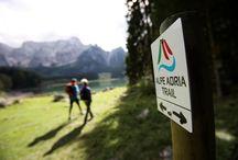 Alpe Adria Trail / Grenzenlos wandern. Vom ewigen Eis des Gletschers am Fuße des majestätischen Großglockners, mächtige 3.798 m hoch, bis an die azurblaue Adria. Weitwandern im Garten Eden - am Alpe-Adria-Trail. Wandern & Weitwandern durch Österreich - Kärnten, Slowenien & Italien.