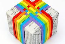Papierknutsel / Ideeën met papier