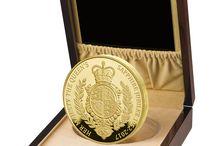 Safírové výročí královny Alžběty II.- mince z 1 kg zlata
