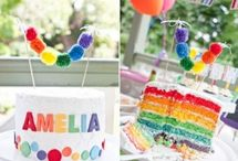 Rainbow Baby Party/Shower / by Kelly Revenaugh