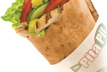 Pita Pit Kingston / Newest pita pit location in Kingston, a new project by Stone & Associates Interior design.