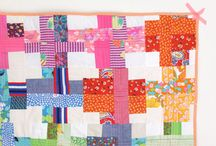 Scrappy quilt / by cynthia pape