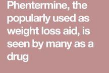 Phentermine as weight loss aid