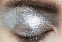 silver make up inspiration