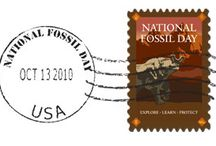 Fossils on stamps