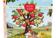 Apple Park children's book / Books are a wonderful way to teach your kids about living healthy and happy lives with others and the earth.