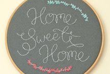 Home Sweet Home-Crossstitch