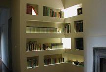 libreria cartongesso 1