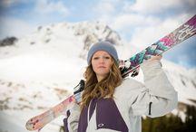Ski and Snow Portraits