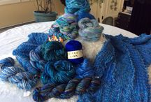 Lucci Yarn palettes of Color, texture, and artistry. / Lucci Yarns consist of an eclectic array of natural and novelty yarns. Stunning color with vibrant textural elements enables an artistic collaboration of elegant wearable art.