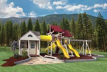 Swing Sets / Bayhorse offers a variety of top-quality swing sets and play sets to create the ultimate play area for children of all ages.