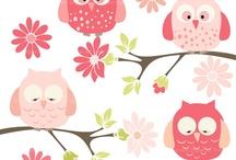 Art & Doodles - Animals - Owls