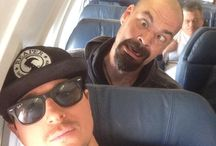 Ghost Adventures / The title says it all.  Nick Groff  Zak Bagans   And Aaron Goodwin.